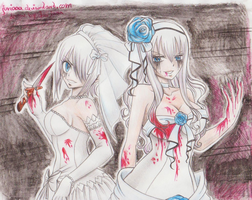 ...evil brides... by Juviaaa