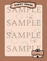 Mario Ghost House Stationery by cuteordeath
