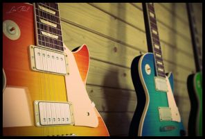 Les Paul Variations by xcEmUx