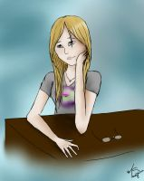 Doodle of Myself by toastysun125