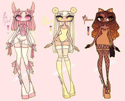 [ADOPTABLE] PASTRY by agent-lapin