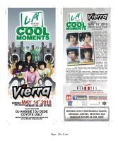Flyer Vierra live concert by ignra