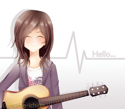 Hello by ming-zi