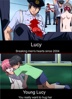 Elfen Lied Motivationals by mariko091