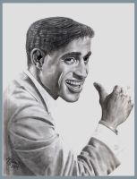 Sammy Davis Jr. by cokeglass