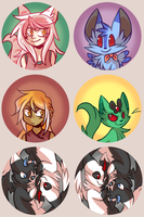 Yokoka's Quest buttons part 1 by ClefdeSoll
