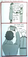 BBC Sherlock comic: The deadly addiction by Graphitekind