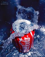 Coke Splash by aninyosaloh