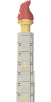 Tower of the Juche Idea by Herbertrocha