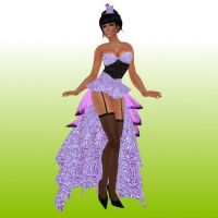Burlesque Outfit by SweetAmorito
