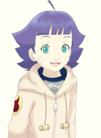 Himawari Uzumaki by HeartPM