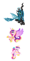 Cadance Sprites by Hexfloog