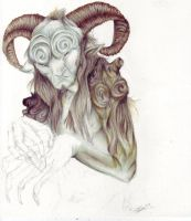 Pan's labyrinth WIP by Mintowolf