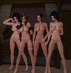 Girl Party 04 - Shaders by Naduron