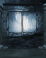 Gates of Eden Free Background by zememz