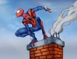Ben Reilly by krissthebliss