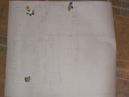 Plans for The Simpsons Project WIP 3: Ground Floor by kayanah