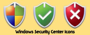 Windows Security Center Icons by hush66