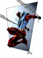 Scarlet Spider by spidermanfan2099