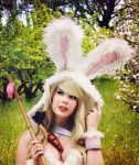 Cosplay - Cottontail Teemo - League of Legends by TineMarieRiis