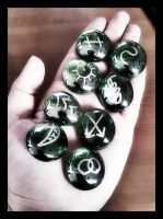 Witches Runes by ravenaudron