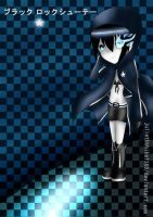Chibi Black Rock Shooter by julietUchiha1165