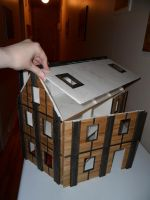 Second Foam Core Dollhouse WIP 10 Assembled by kayanah
