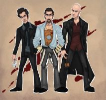 The Vampire, the Killer, the Detective by Awkwardly-Social