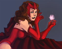 scarlet witch by thanoodles