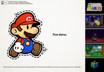 Free New Paper Mario Demo by Nelde