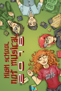 Graphic Novel Cover by christhedillow