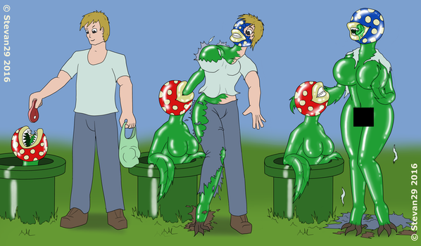 Piranha Plant TF rqst by Stevan29
