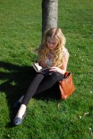 Abbi Reading One by Faceler