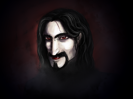 Count Dracula by ArcanePrayer