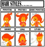 Hair style meme - Flame Princess by natto-uzumaki