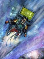 pc guy to the sky by hussieny