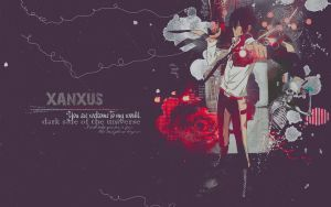 Xanxus wallpaper by lady-alucard