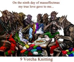 On the 9th day of Masseffectmas... by efleck