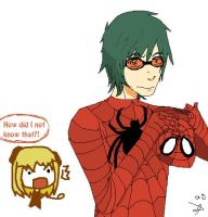 Mello is Spiderman's Friend by PandiexP