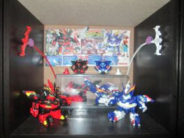 Beyblade Shrine - Cross Arms by Kyouseme-Arasaki