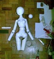 Doll WIP by Xenosnake
