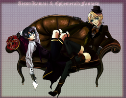 Alois and Ciel by EphemeralxFantasy