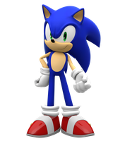 Sonic Unleashed Pose by Pho3nixSFM