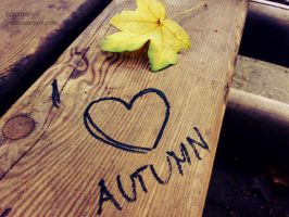 I love autumn by yuya-yo