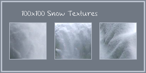 100x100 Snow Textures by VacantBeauty