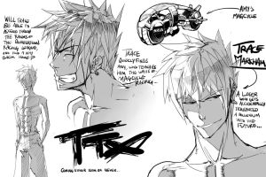TTX rough sketches by verticalfish