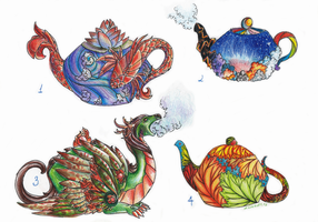 Sale of teapots!! by Avokad