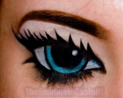 Manga (cartoon) Eyes - Make up by TheEmanueleCastelli