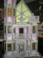 My Spooky Dollhouse by grimdeva