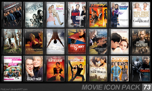 Movie Icon Pack 73 by FirstLine1